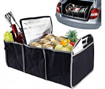 Autós tároló csomagtartóba hűtőtáskával M0110