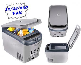 Autós és hordozható 12-24 Volt kompresszoros hűtőláda MM0207-12/24V-35L
