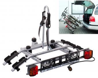 Autós kerékpártartó, kerékpárszállító vonóhorogra, Dönthető Amos Tytan Plus2 7PIN