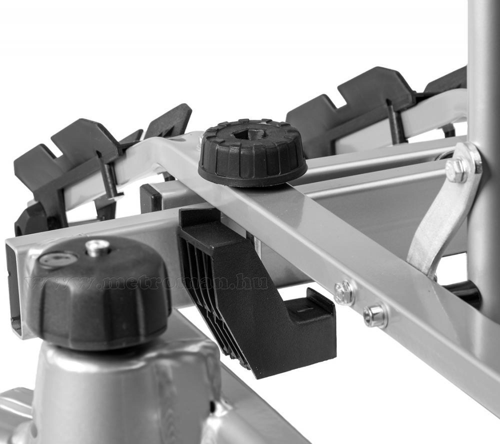 Autós kerékpártartó, kerékpárszállító vonóhorogra, Dönthető Amos Tytan Plus4 7PIN