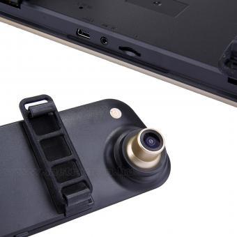 Autós kétkamerás DVR menetrögzítő és tolató kamera, Mlogic MS106DVR-Gold