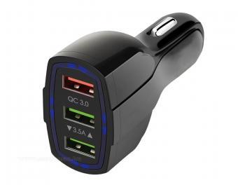 Autós szivargyújtós USB töltő MLS34F