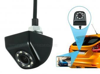 Autós tolatókamera első-hátsó kamera móddal Mlogic  MM-9880LED