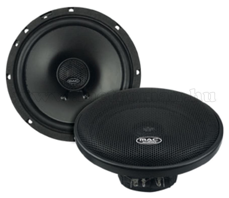 Mac Audio kétutas koaxiális autóhangszóró 16,5 cm-es BLK 16.2