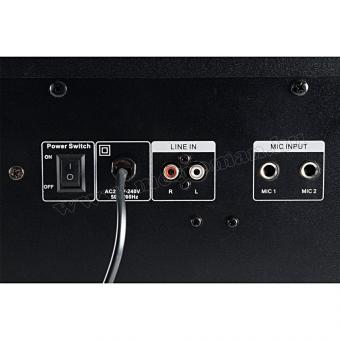 Hordozható USB/SD MP3 Bluetooth multimédia zene lejátszó BoomBox BT MAX