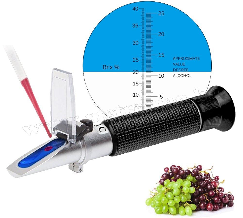 Refraktometer, cukortartalom méréshez MM0531