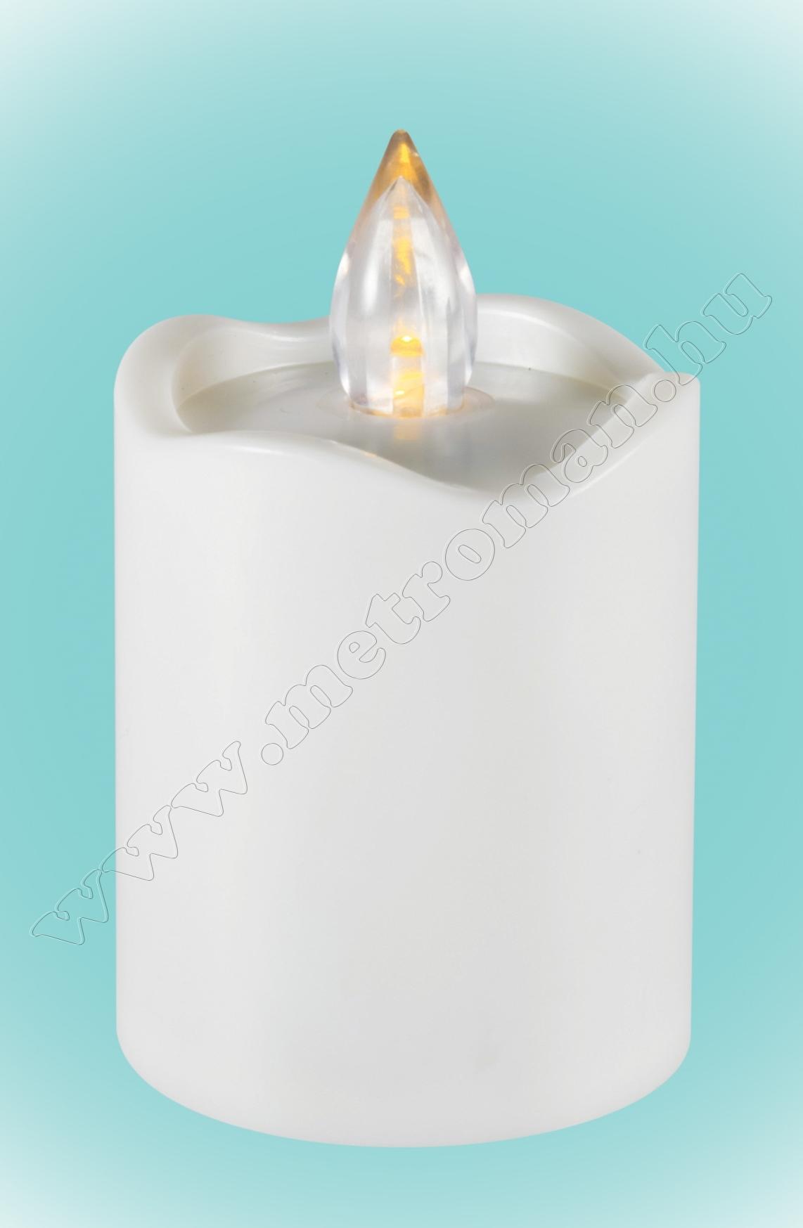 Ledes gyertya fehér CDX 2/WH