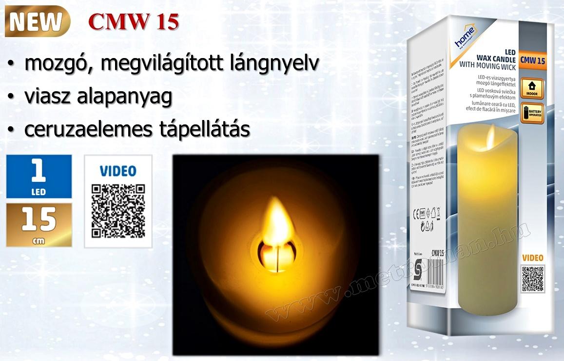 LED gyertya, mozgó lángeffekttel CMW 15
