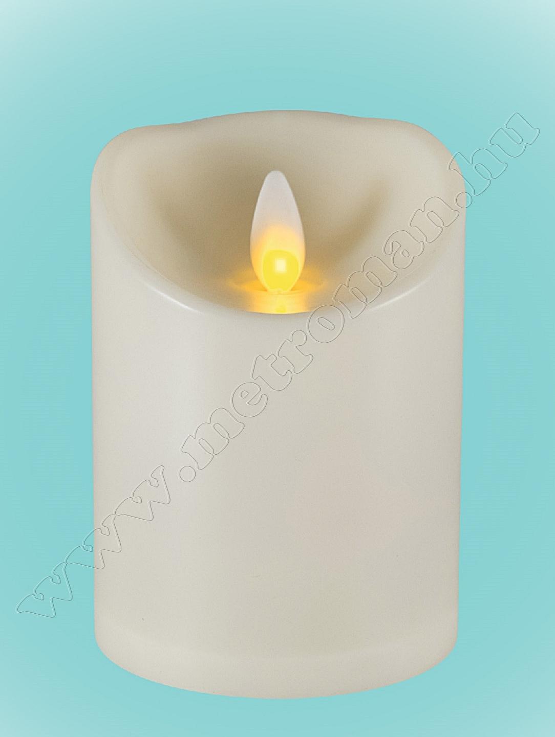 LED gyertya, mozgó lángeffekttel CMW10