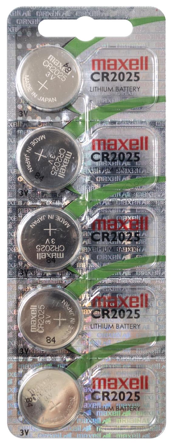 Litium gombelem MAXELL CR2025