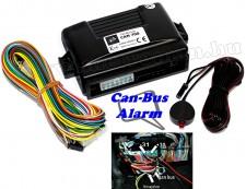 Autó típusra programozható Can-Bus autóriasztó, Carguard CAN-700