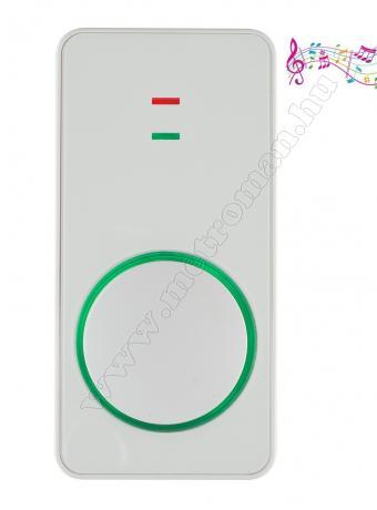 Akkumulátoros tölthető vezeték nélküli csengő DB1503AC