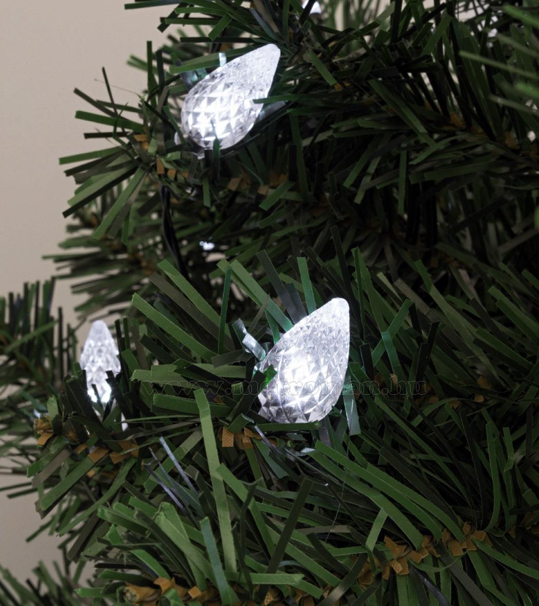 Toboz dekorációs szett karácsonyi LED fényfüzérhez, Deco4