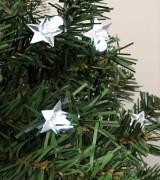 Csillag dekorációs szett karácsonyi LED fényfüzérhez, Deco6