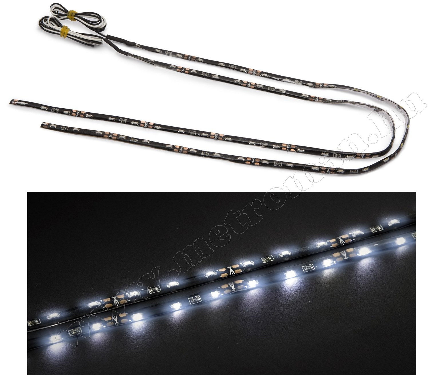 Hajlékony 12 Voltos autós LED szalag, DLA002 3W
