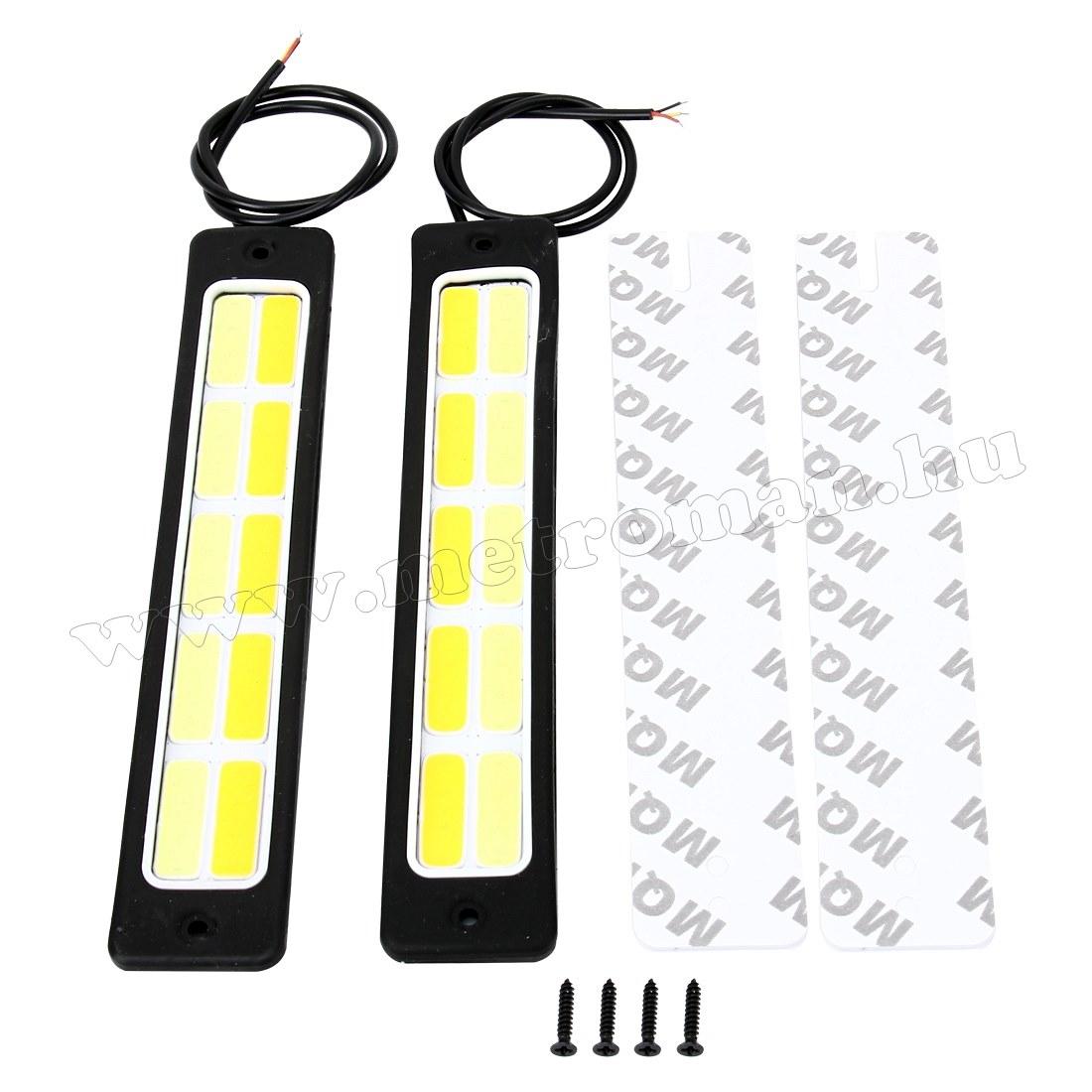 Nappali menetfény LED, Sárga-Fehér Mlogic MM-8619