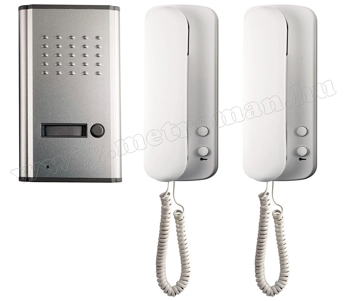 Audio kaputelefon szett 2 beltérivel DP 011