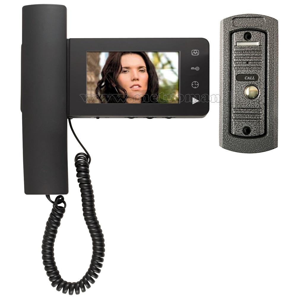 Színes Videó kaputelefon képrögzítővel SAL DPV 24