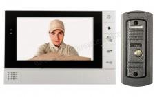Színes Videó kaputelefon képrögzítővel SAL DPV 25