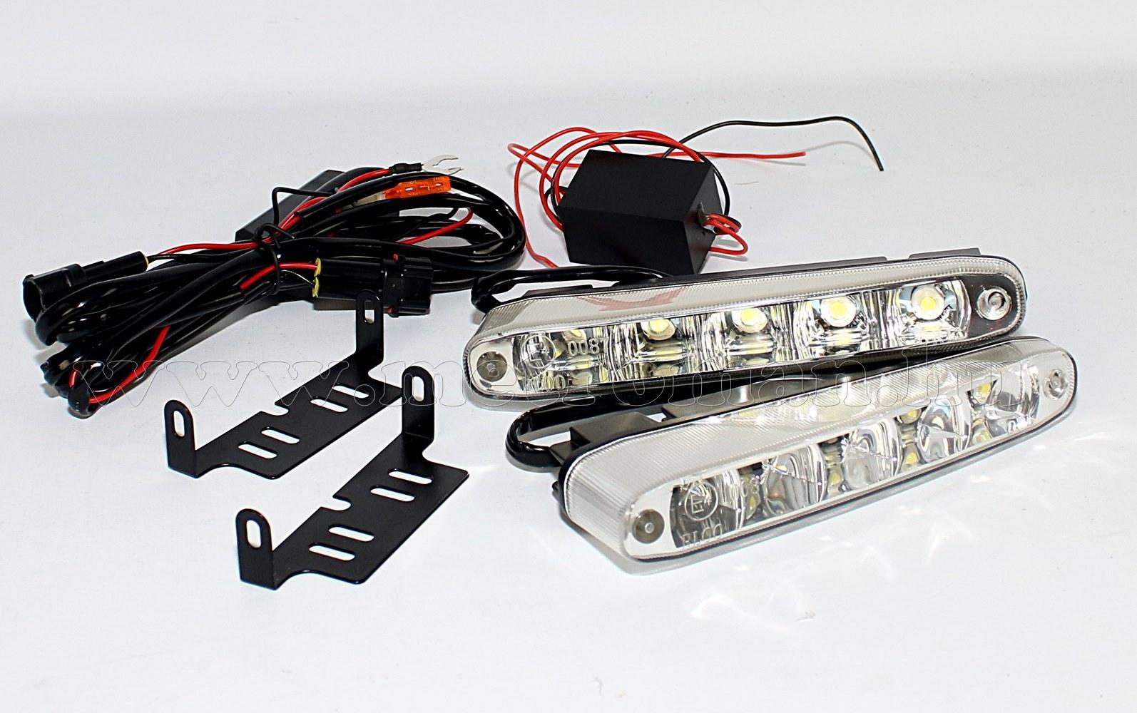 Nappali menetfény LED, DRL, E jeles, MLogic DRL03