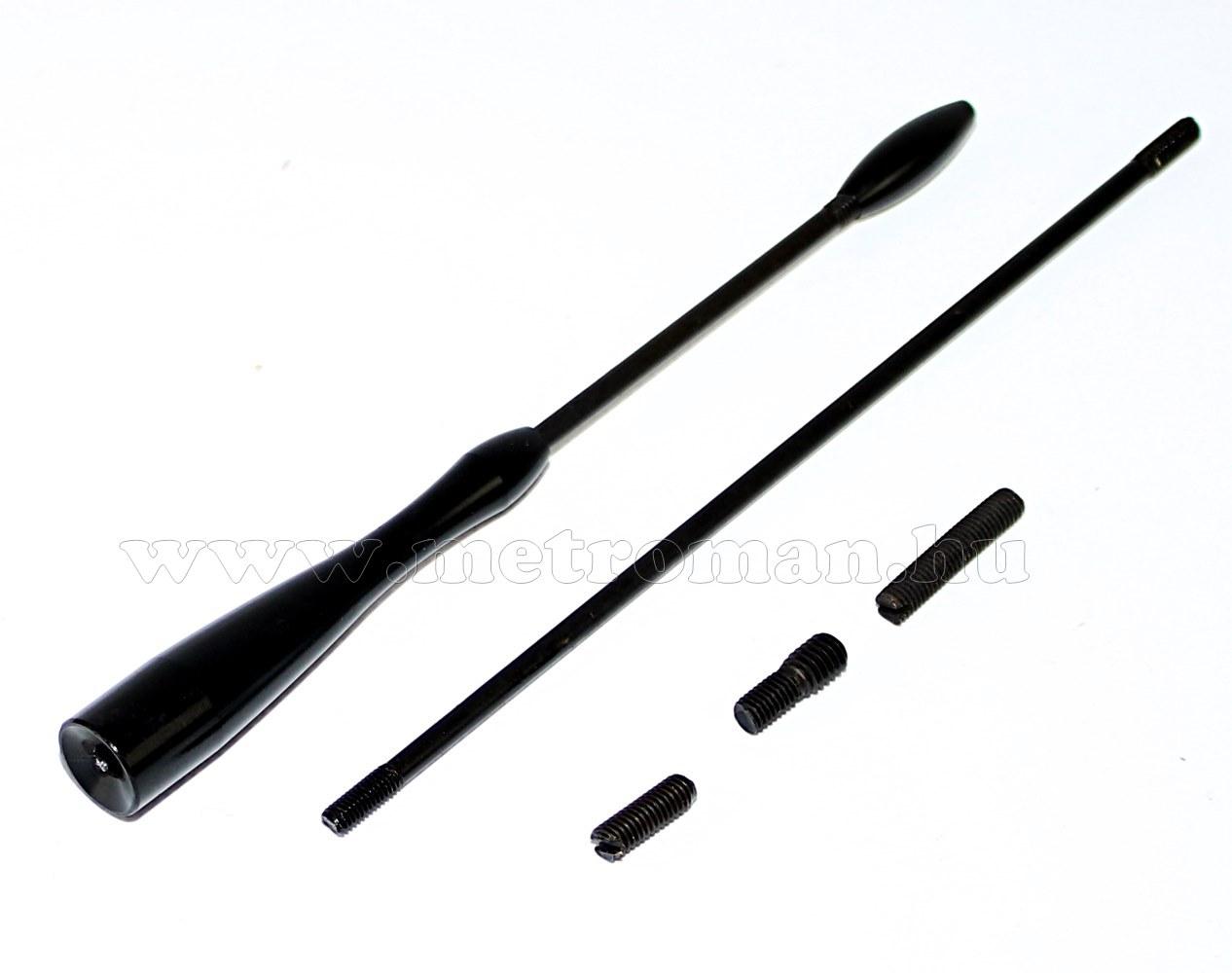 Autó pót antenna szár, DX415BK