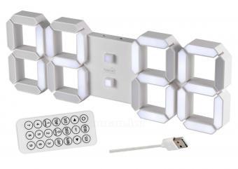 Digitális 3D LED ébresztőóra MLTC05