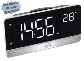 Digitális LED ébresztőóra rádióval LTCR05