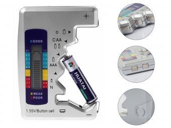 Elem feszültségmérő, elemteszter MG372B