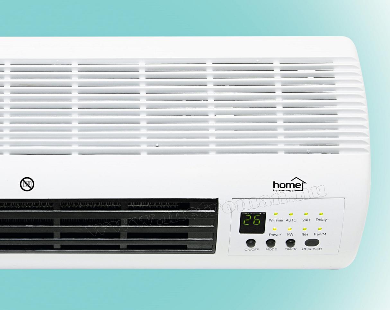 Elektromos ventilátoros programozható fali fűtőtest FKF 45201