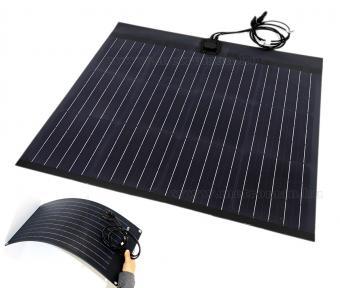 Flexibilis napelem, félig hajlékony napelem FG-FLEX50W