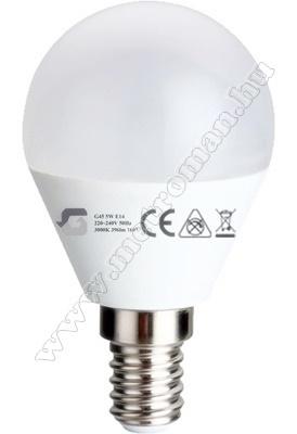 Energiatakarékos LED izzó G45-5WE14