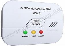 Szénmonoxid CO riasztó, jelző készülék GS819