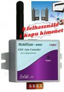 GSM kapunyitó távirányító MobilGate-Nano