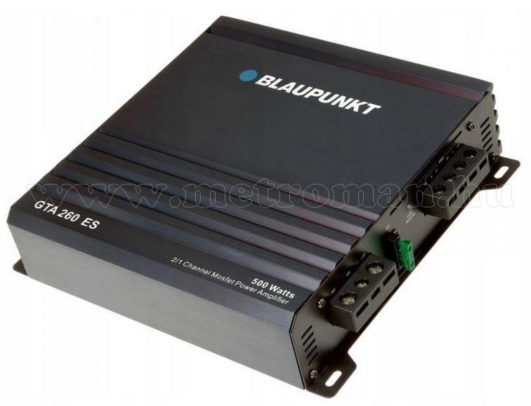 Blaupunkt 2 csatornás autós erősítő GTA 260ES