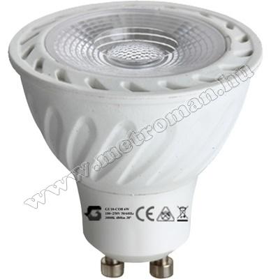 Energiatakarékos LED izzó GU10LED6W