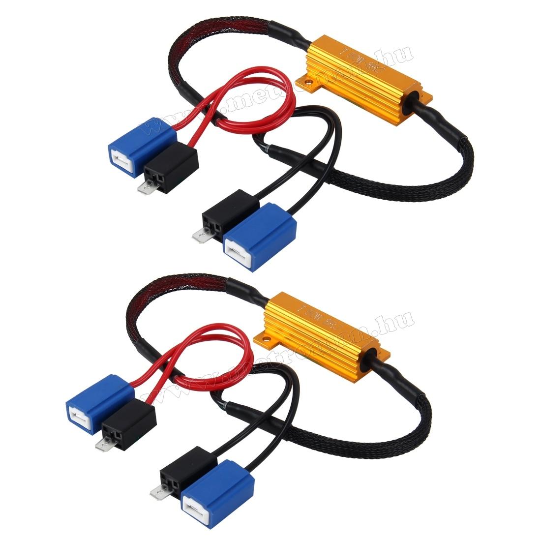 LED izzó Can-Bus Ellenállás adapter H1/H3/Univerzális MM-3381