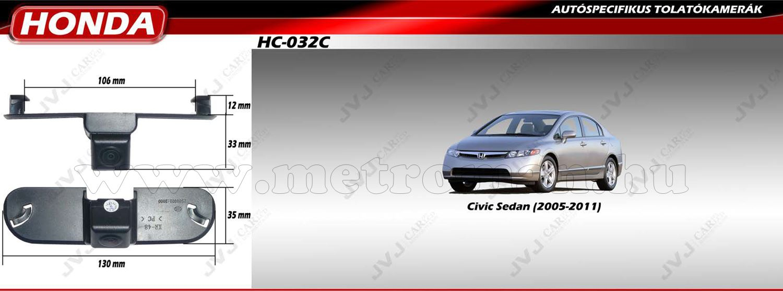Honda tolatókamera, JVJ HC-032C