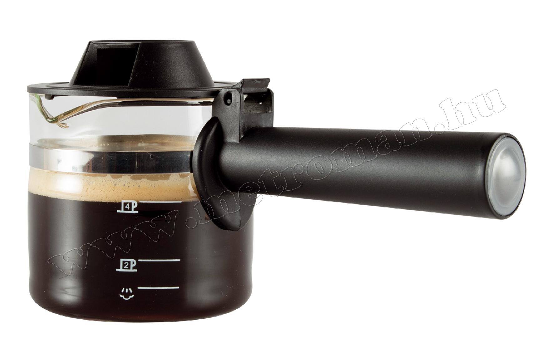 Üveg kiöntő eszpresszó kávéfőzőhöz HGPR06/K
