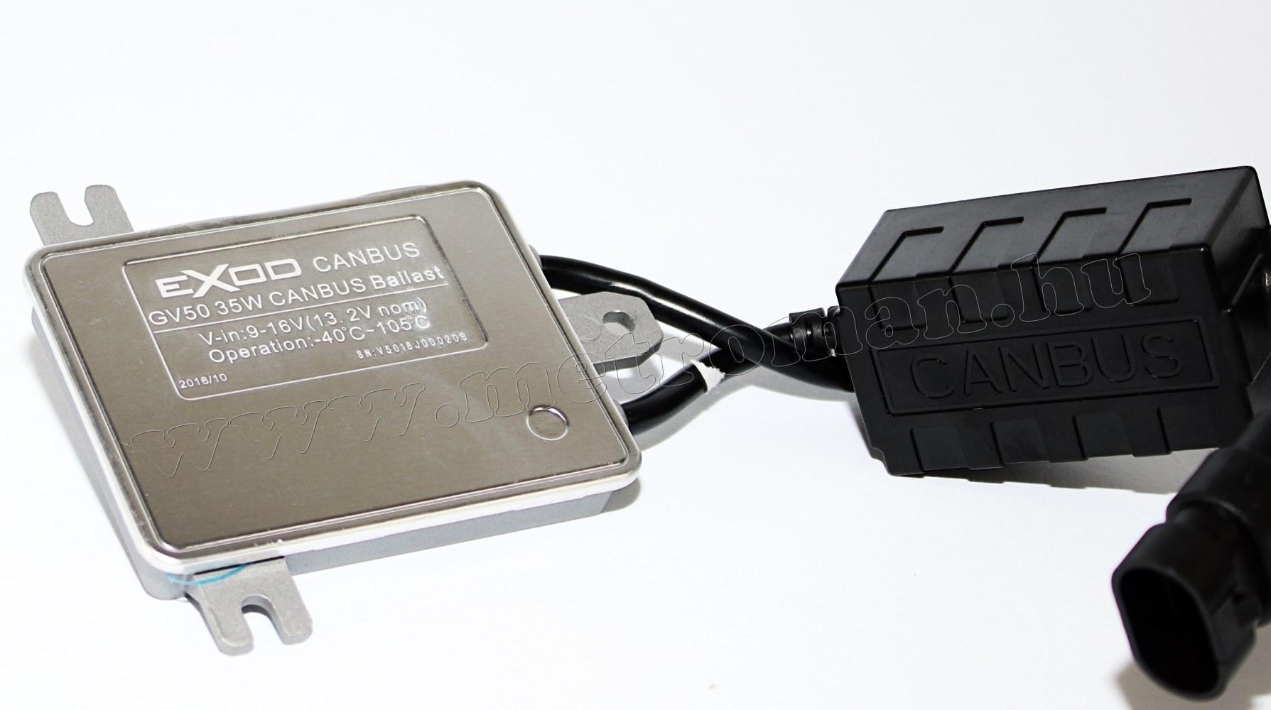 HID Can-Bus Xenon szett H4-Bi Xenon 4300K GV50-HQ