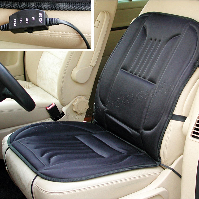 Autós ülésfűtés, fűthető ülésborító HS-002 kétüléses csomag