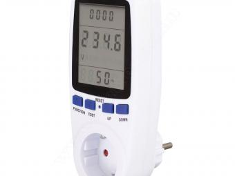 Hálózati energia fogyasztásmérő EM04