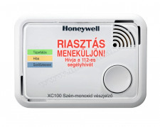 Szénmonoxid CO riasztó, jelző készülék Honeywell XC100