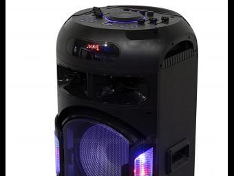Hordozható MP3 USB/microSD Bluetooth multimedia hangfal karaoke funkcióval PAR2300BT