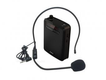 Hordozható idegenvezető kihangosító fejmikrofonnal és MP3 lejátszóval M70301C