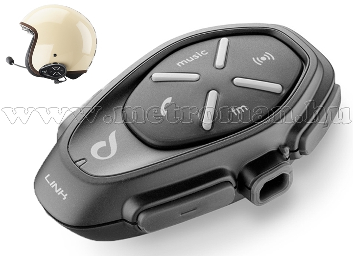 Motoros Bluetooth kihangosító és headszett, Interphone LINK Single Pack