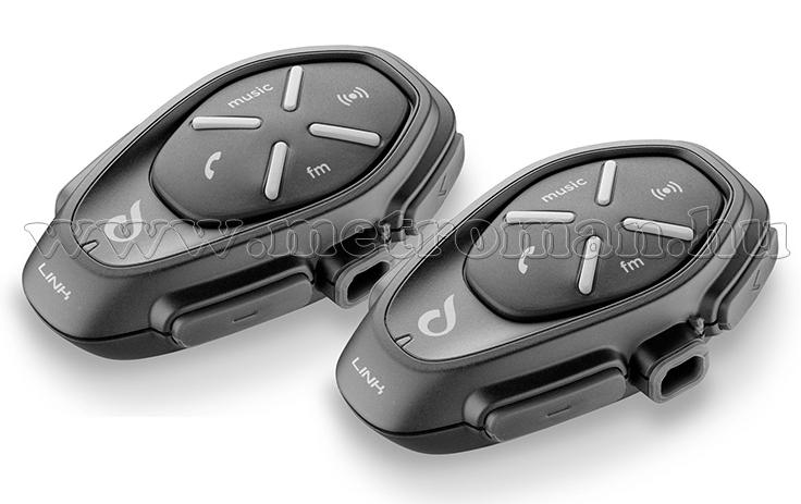 Motoros Bluetooth kihangosító és headszett, Interphone LINK Twin Pack
