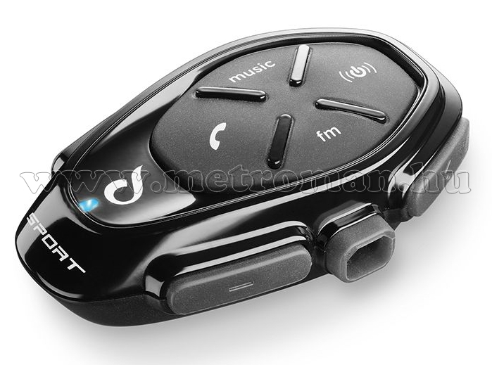 Motoros Bluetooth kihangosító és headszett, Interphone SPORT Single Pack