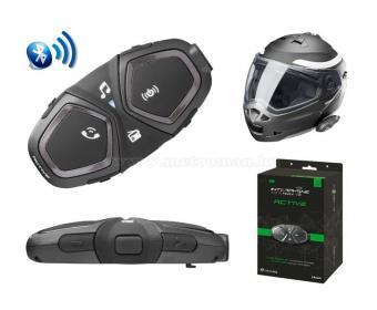 Interphone Active motoros Bluetooth kihangosító Headset Single Pack