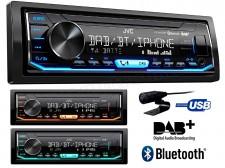 Digitális DAB rádiós USB MP3 Bluetooth Autórádió JVC KD-X451DBT
