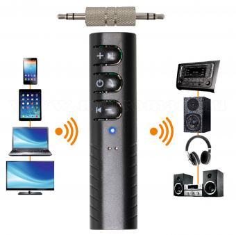 Jack telefon kihangosító Bluetooth vevő adapter BT37A